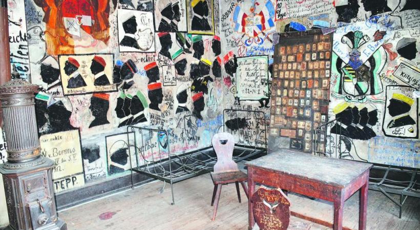 Le «Studentenkarzer», la prison des étudiants.