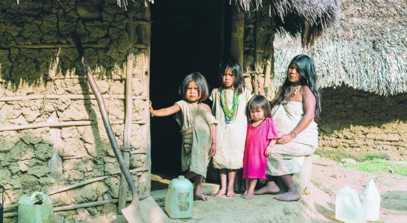 Le cadre verdoyant du village de Guatapé, étape reposante bienvenue.