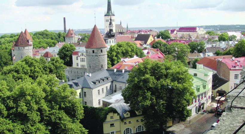 La visite de Tallinn, la capitale de l'Estonie, est incontournable. DR