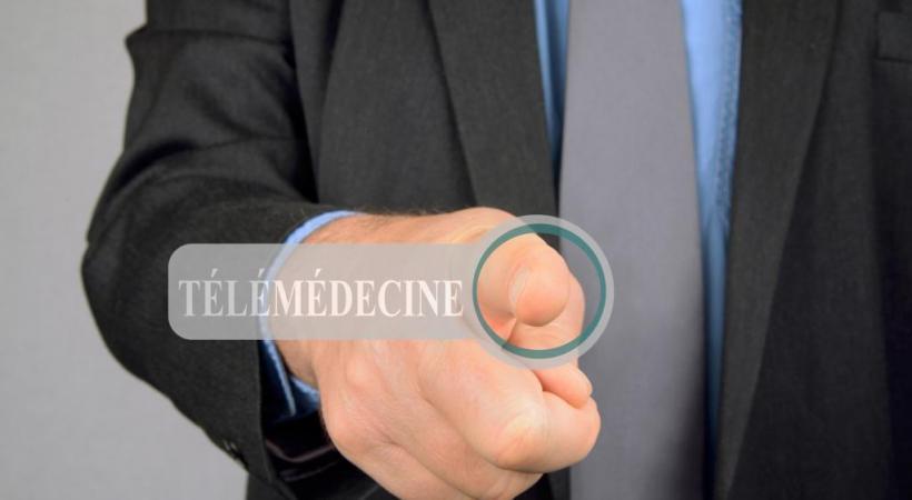 Durant la pandémie, la télémédecine a explosé. DR