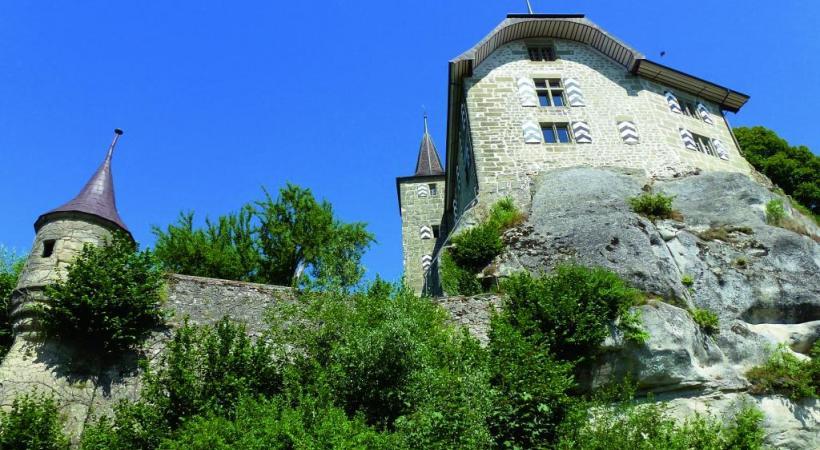 Avec son château-fort et sa une campagne vallonnée, Rue possède un paysage culturel bien préservé.DR