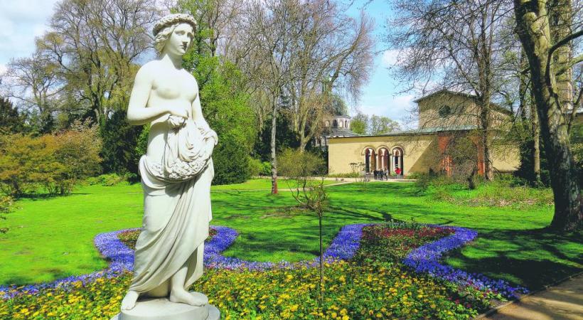 Le palais Sans-Souci, «joyau du rococo allemand».