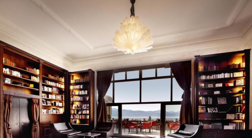 La Bibliotheca du Lausanne Palace accueillera une table d'hôte pour un repas inspiré d'un ouvrage du XIXe siècle. BENNY TACHE