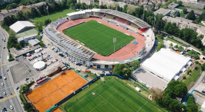 L'avenir d'Athletissima est assuré à la Pontaise jusqu'en 2026. LS