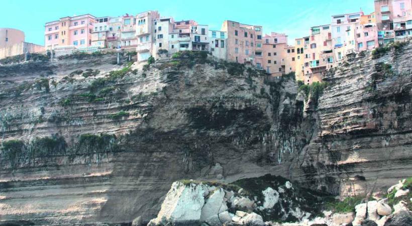La mythique falaise de Bonifaccio.