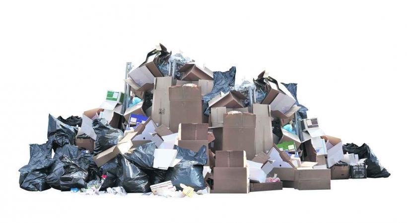 Des déchets de plus en plus encombrants. DR.