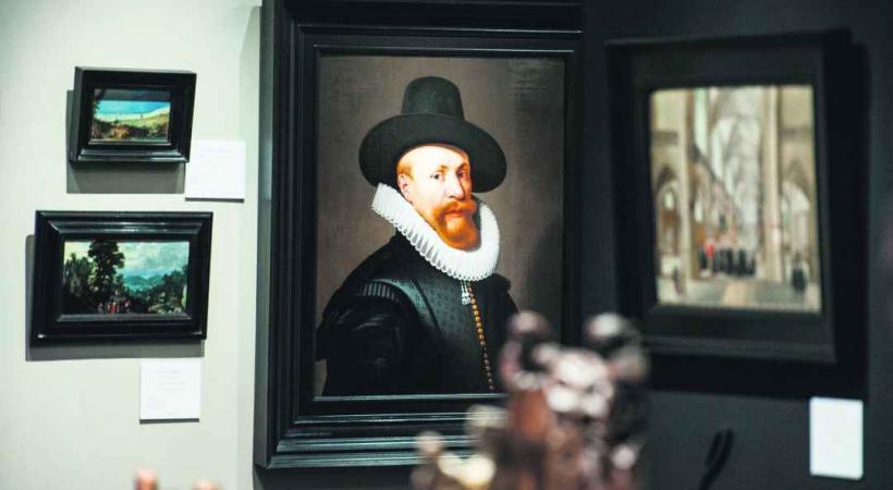 De célèbres peintures DR
