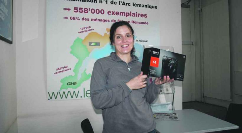 Gagnant de l'appareil photo Sony