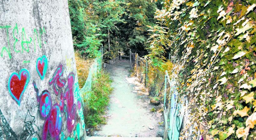 Le passage de Riant-Mont reste un lieu toujours très fréquenté par les dealers et les toxicomanes.