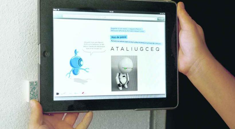 La Maison d'Ailleurs, Place Pestalozzi 14, 1401 Yverdonles- Bains - «En Quête avec les Robots», visite interactive