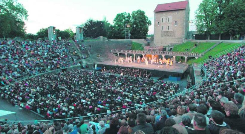 Le magnifique cadre des arènes d'Avenches va accueillir le chef d'oeuvre de Puccini.