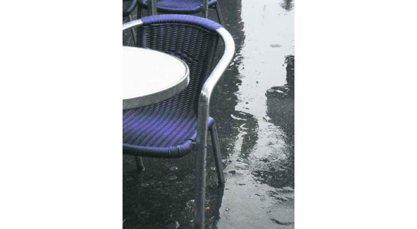 La météo pluvieuse a plombé le chiffre d'affaires des cafetiers et restaurateurs.
