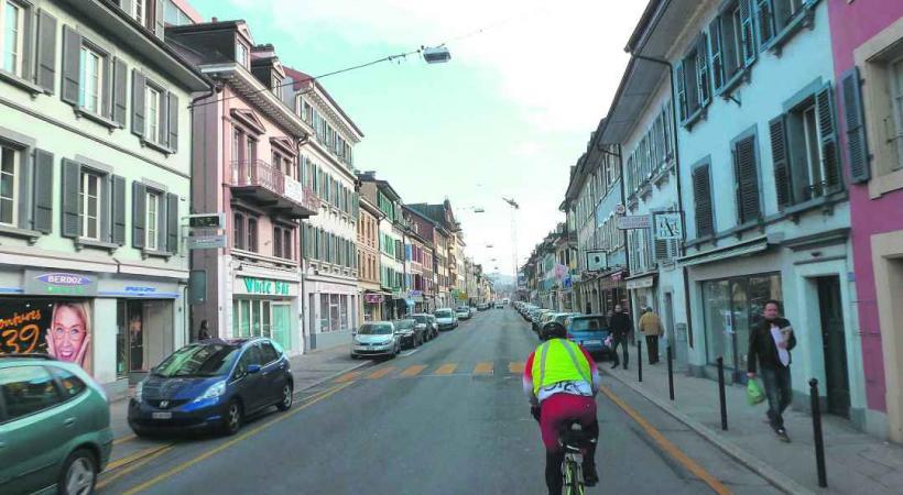 Dans quelques semaines, la Grand Rue de Rolle sera un vrai gruyère.