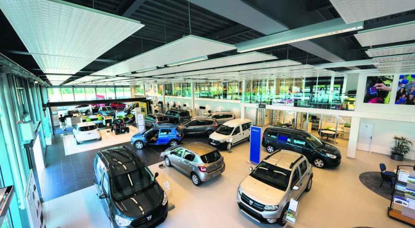 Le nouvel espace accueille tous les nouveaux modèles des marquesRenault, Dacia et Nissan.