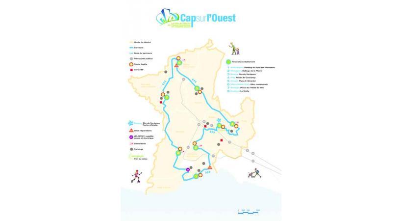 Un parcours de 23 kilomètres pour fédérer les habitants de l'Ouest lausannois.