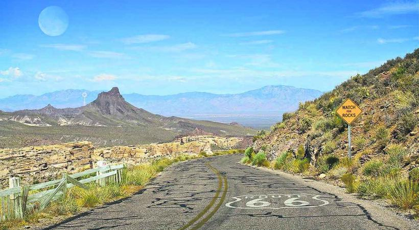 La route 66, sur les traces de l'American Way of Life.
