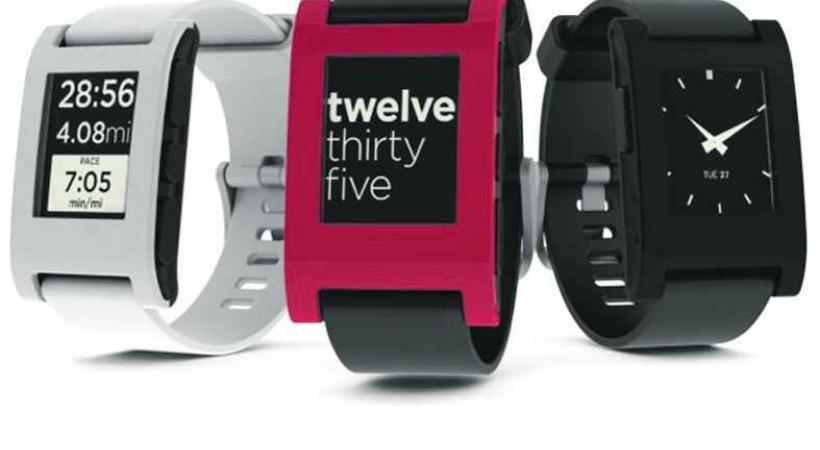 Le succès de l'américain Pebble va -til faire tâche d'huile auprès des horlogers suisses?