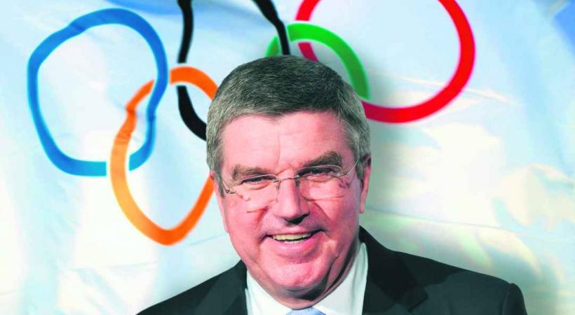 Thomas Bach, nouveau président du CIO, critiqué par beaucoup pour ses liens jugés trop étroits avec certains magnats de la finance.