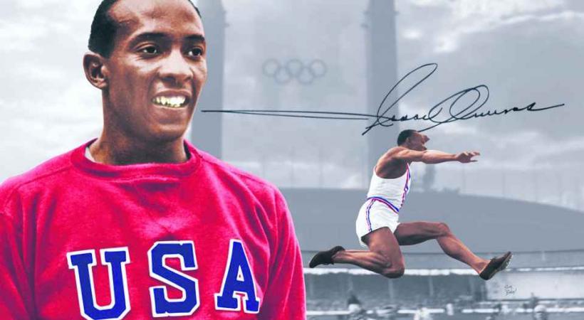 Jesse Owens, la première légende de l'athlétisme. DR
