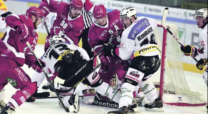 Se battre contre les équipes suisses-alémaniques, pas toujours facile. Les joueurs du Lausanne Hockyx Club le savent bien.